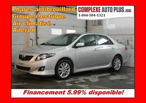 2009 Toyota Corolla S *Sport, Mags, Fogs, Jupes