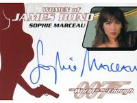 James Bond Collection SSP Base Card #155 Sophie Marceau as Elektra King