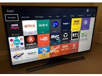 40in Samsung 4k UHD SMART TV -1000hz- wifi - Freeview HD - WARRANTY