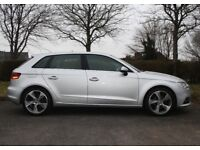 Audi A3 2.0 TDI Sport Sportback 5dr Good / Bad Credit Car Finance