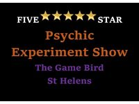 Spooky Halloween Psychic Show and 1-2-1 Readings at The Game Bird, St Helens