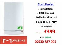 £399 BOILER INSTALLATION,REPLACEMEMNT,plumbing,heating,cooker,hob,powerflush,GAS SAFE,VAILLANT