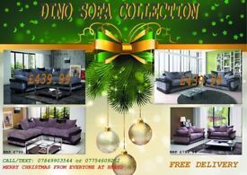 FREE DELIVERY BEFORE CHRISTMAS ****BRAND NEW 3+2 OR CORNER SOFA AVAILABLE IN 2 COLOURS ***