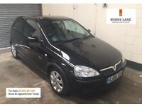 2006 Vauxhall Corsa Sxi+ 1.4, Leather, Alloys, Air Con, 12 Month Mot 3 Month Warranty