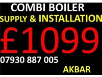 combi BOILER INSTALLATION,powerflush,RADIATORS NOT HOT,megaflo,GAS CERTIFICATE,back boiler removed