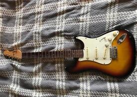 Electric guitar- Stratocaster style.