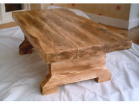 Brand New Hand Made Rustic Coffee Table