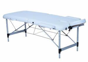 Table de massage portable aluminium DELUXE*