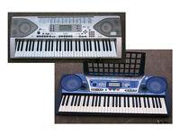 Yamaha PSR 262 & Casio CTK 900 Keyboards