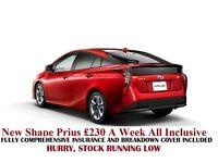 Toyota Prius Hire £230 P/W|PCO Cars|Car Hire|Lease Hire |Rent a Car|Uber car|Mercedes E class hire