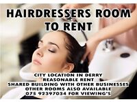 Hairdressers / Beauty / Nails & More Rooms Available To Rent