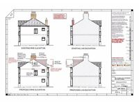 ARCHITECT URAL SERVICES FOR ALL PLANNING DRAWINGS --LOFT CONVERSION HOUSE EXTENSION CHANGE OF USE