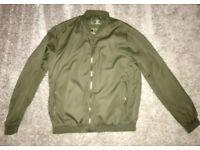 Lightweight Green Mens Jacket - Never Worn - Size Large