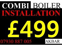 NEW boiler installation,REPLACEMENT, SWAP, back boiler removed,MEGAFLO ,GAS SAFE heating, vaillant