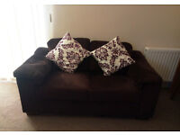 Comfy 2-seater sofa - a set of two such sofas!
