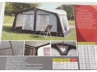 Full caravan awning size 15