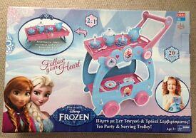 Frozen tea trolley