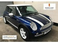2004 Mini Cooper 1.6 Full Service History, Leather, Air Con, Harmon Kardon Sound, 3 Month Warranty