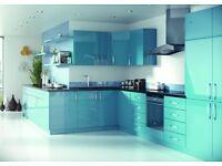 High Gloss Marmara Blue