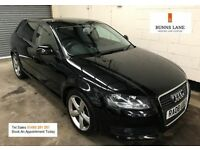 2008 Audi A3 Sport 2.0 Tdi 140bhp *1 Owner* *Full Audi Service History* Bluetooth 3 Month Warranty