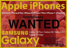 WANTED - Looking for Samsung Galaxy Smartphones. Any Condition. Any Network
