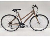 ladies Trek 7.3 FX WSD town hybrid bicycle
