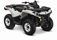 2015 Can-Am Outlander 650 DPS $28.49/wk (120 months @ 7.99%