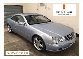 Mercedes Benz Cl500 Full Service History Low Mileage Top Of the Range Great Value 3 Month warranty
