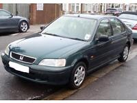 HONDA CIVIC 1.4 AUTOMATIC- EXCELLENT RELIABLE RUNNER - FAMILY OWNED SINCE NEW - MOT TAX - BARGAIN