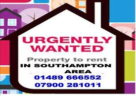 Property wanted Southampton locks Heath area !
