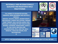PROFESSIONAL MASSAGE AND GROOMING BY QUALIFIED MALE PRACTITIONER