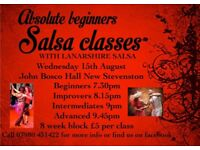 Beginners Salsa Classes