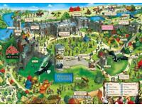 2 tickets to Warwick Castle for friday 27th July