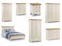 BRAND NEW JULIAN BOWEN PORTLAND BEDROOM FURNITURE RANGE Can Deliver / Collection Kirkby-in-Ashfield