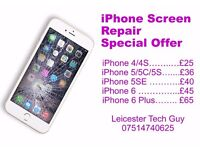 iPhone iPad screen repair in Leicester