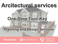 Full architectural services - house extension plans - loft conversion drawings - Building regulation