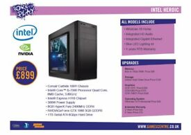 Born To Play Gaming PC - Intel Heroic