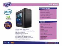 Born To Play Gaming PC - Intel Heroic