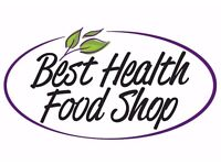 Part time Health Food Shop Advisor