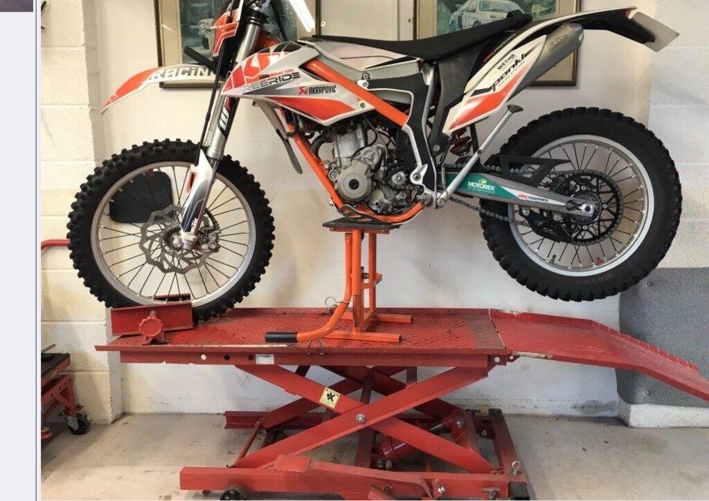 Sealey motorcycle lift