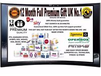 12 Months Full SkyGift V5S V8S F5 Openbox Skybox Amiko Zgemma and all other Models UK