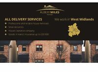 PROFESSIONAL AND RELIABLE HOUSE/OFFICE/SHOP/FLAT REMOVALS COMPANY. SINGLE ITEMS DELIVERY..