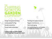 Gardener and hard landscaper