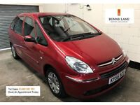 2007 Citreon Xsara Picasso Desire 1.6 Mpv 1 Owner Full Service History immaculate 3 Month Warranty
