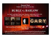 Michael Buble Vs Gary Barlow Tribute Night