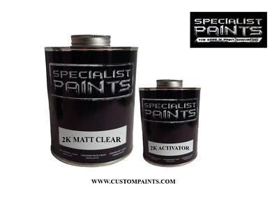 1 Pint Kit - 2K MATT CLEAR 1 PINT KIT INCLUDING ACTIVATOR, Auto Paint, Motorcycle, HOK, PPG