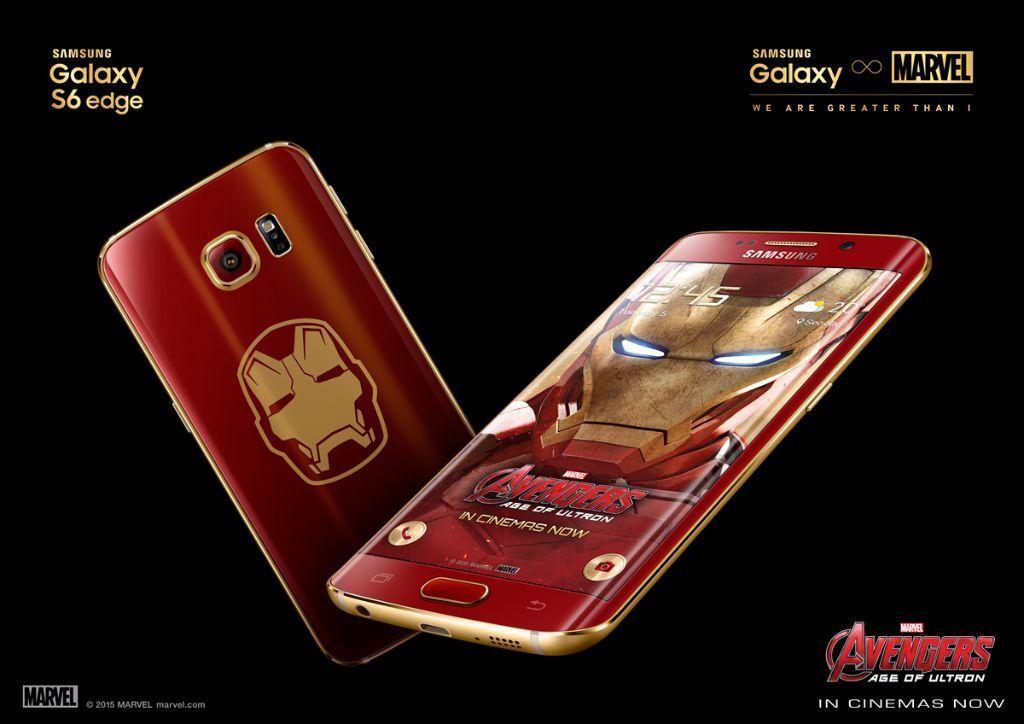 Samsung Galaxy S Edge Gb Limited Edition Iron Man Sealed Only - Abt samsung