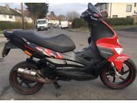 GILERA RUNNER SP50 SP 50CC 2007 VERY FAST FULL MALOSSI 70 KIT VERY LOW MILES NEW SHAPE YEARS MOT