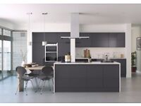 Handleless Anthracite Gloss Kitchen Complete Modern.. Hurry limited stock!