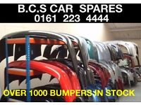 VAUXHALL CORSA ASTRA INSIGNIA ZAFIRA FRONT - REAR BUMPERS IN STOCK ( RED BLUE GREEN BLACK )